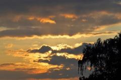 sunset ginkelse hei#(20170922) landschappen
