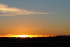 sunset ginkelse hei#(20181224)b landschappen