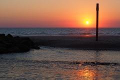 sunset l'amélie plage#(20180710) landschappen