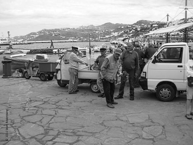 oude mannen, Mykonos