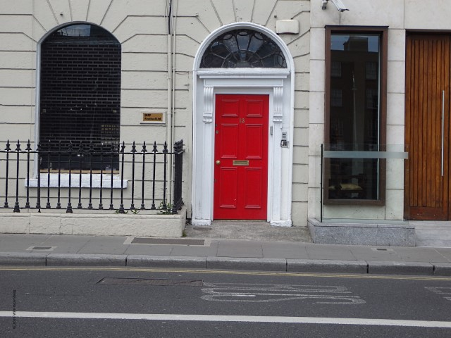 rode deur, Dublin